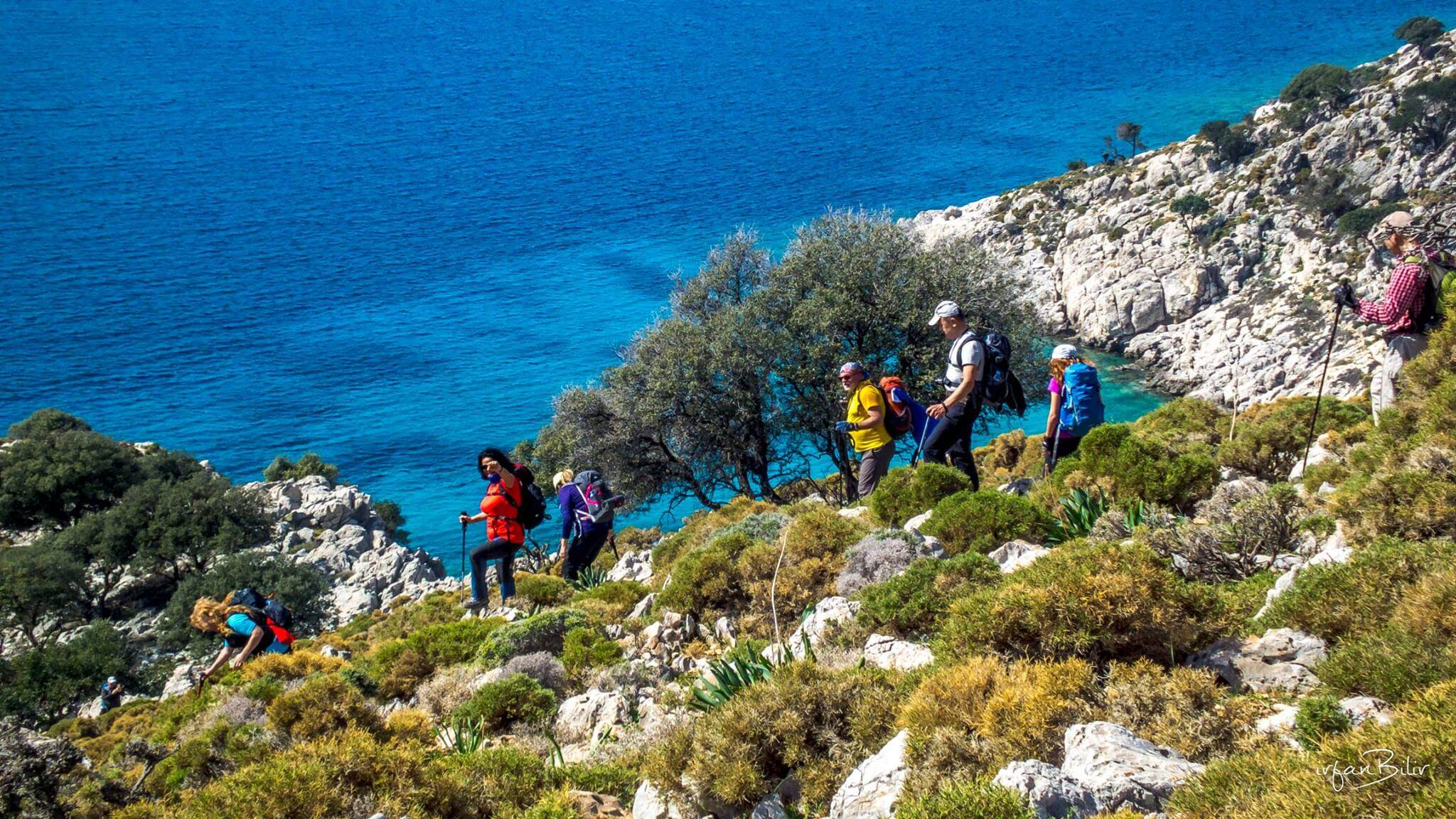 Activities I Hiking by Princess Funda Yacht along the magnificent coastal areas in Turkey