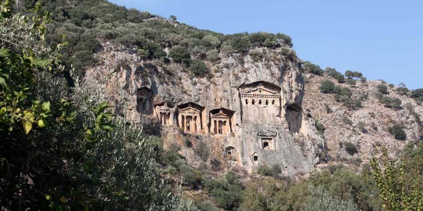 Princess Funda Itinerary Tour 1 I Dalyan Caunos I King Tombs