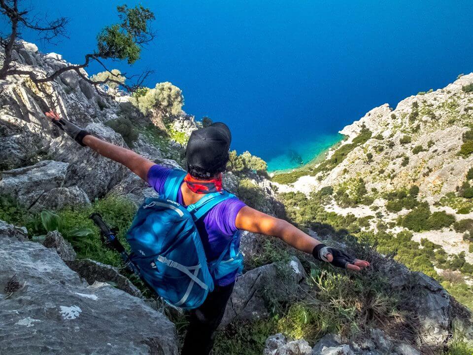 Activities I Hiking by Princess Funda Yacht I Enjoy the unique breathtaking view of coastal landscape in Turkey