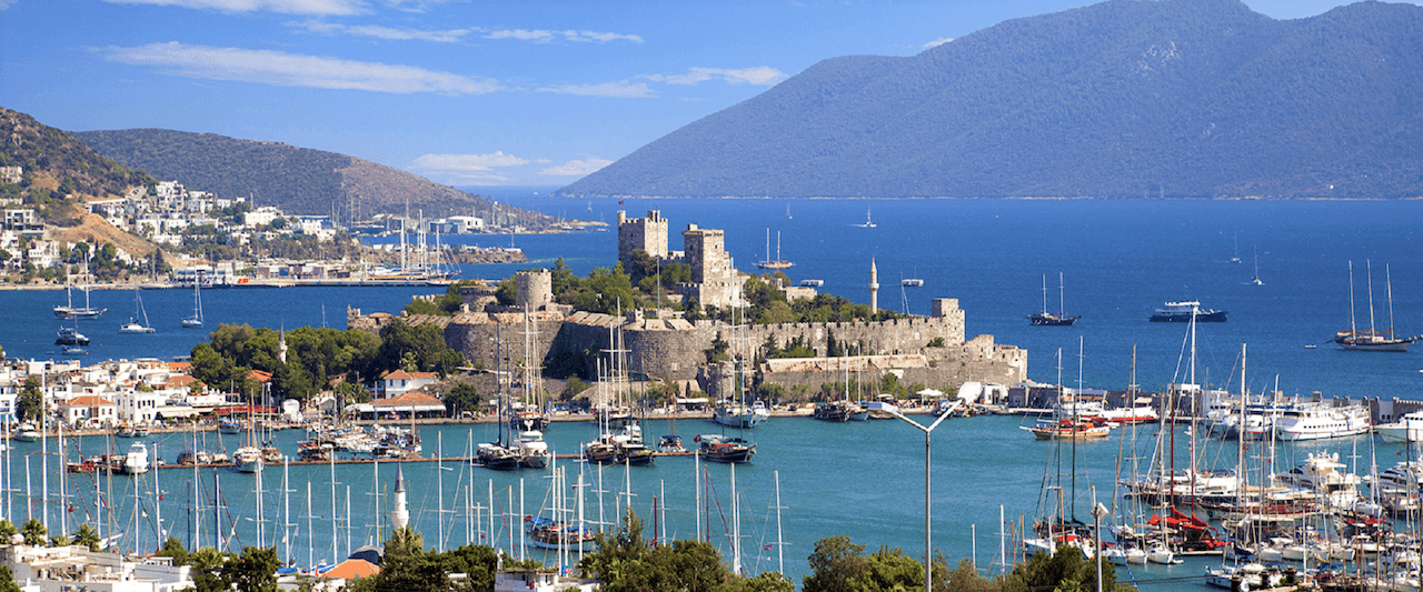 Bodrum Harbour I Tour Itinerary 5 I by Princess Funda Yacht